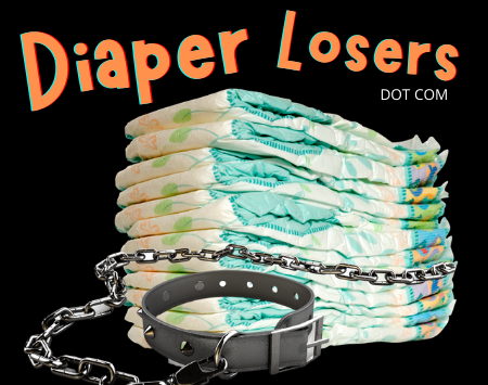 diaper losers is a site for diaper humiliation and training