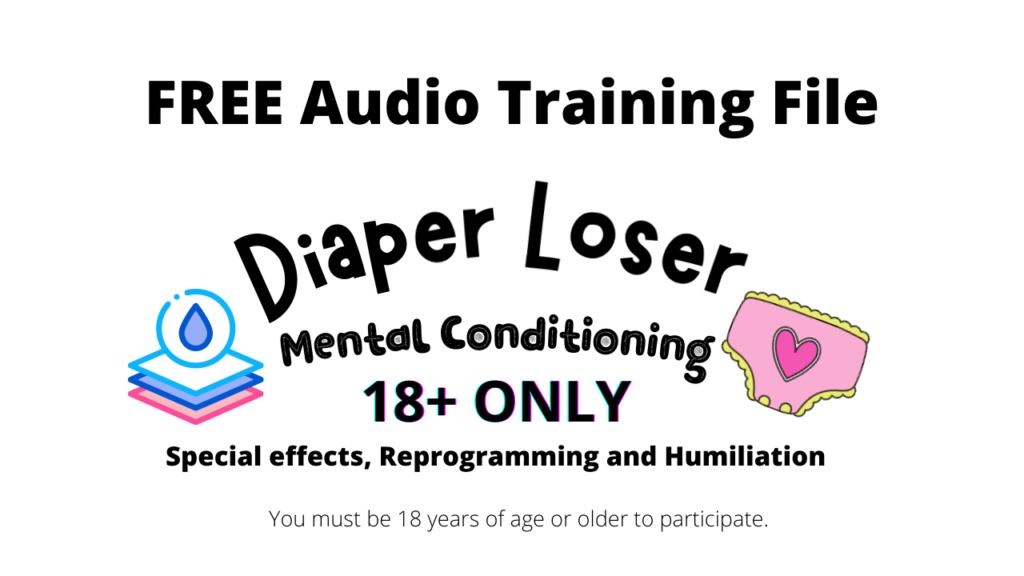 ABDL diaper humiliation and training