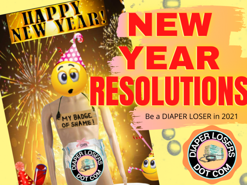 ABDL diaper goals and new years reolutions