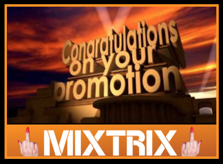 diaper humiliation starts with serving Mixtrix