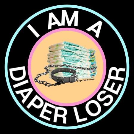 I am a diaper wearing loset