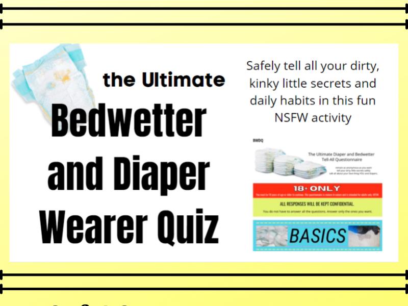 biggest diaper quiz